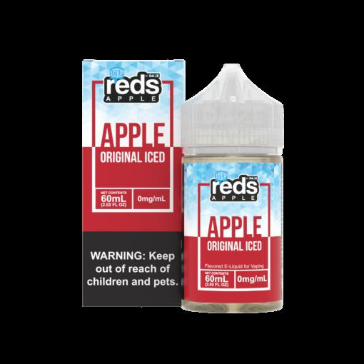7 Daze – Reds Apple Iced 60mL