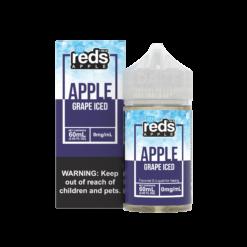 7 Daze – Reds Grape Iced 60mL