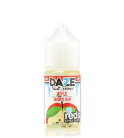 7 Daze Salt Reds Apple ICED ejuice
