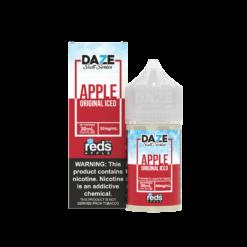 7 Daze Salt – Reds Apple Iced 30mL