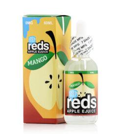 7 Daze Reds Mango ICED ejuice