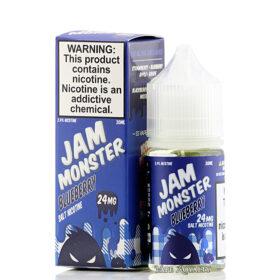 Jam Monster Blueberry Nic Salt ejuice
