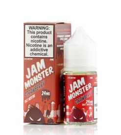 Jam Monster Strawberry Nic Salt ejuice