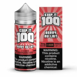 Keep it 100 Berry Au Lait E-Liquid