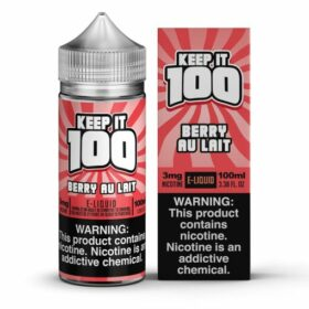 Keep it 100 Berry Au Lait E-Liquid