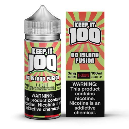 Keep it 100 OG Island Fusion eJuice