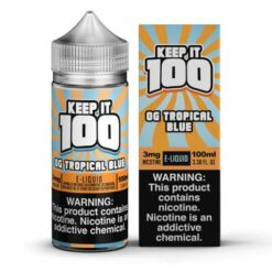 Keep It 100 OG Tropical Blue eJuice
