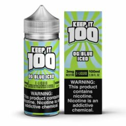 Keep it 100 OG Blue ICE eJuice