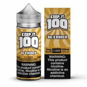 Keep it 100 OG Krunch eJuice