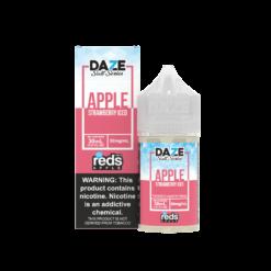 7 Daze Salt - Reds Strawberry Iced 30mL