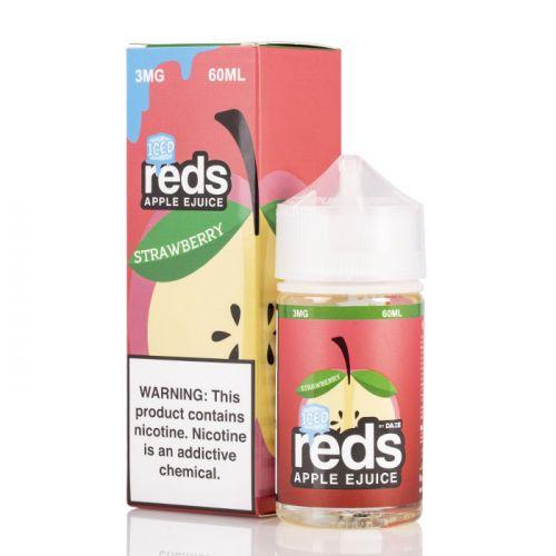 7 daze reds strawberry ICED vape juice