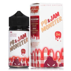 Jam Monster PB & J Strawberry Vape Juice