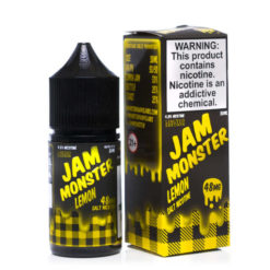 jam monster salt lemon vape juice
