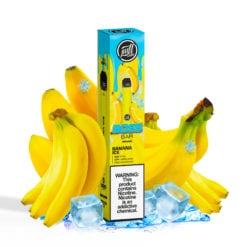 Puff Boss Bar 1500 puff disposable - Banana ICE