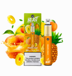Puff Beast Bar Disposable 1500 Puffs Pineapple Peach