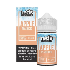 7 daze reds Peach ICED vape juice