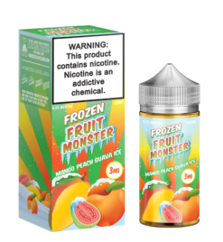 Frozen Fruit Monster mango peach guava ICE ejuice
