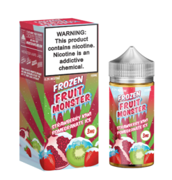 Frozen Fruit Monster strawberry kiwi pomegranate ice ejuice