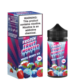 frozen Fruit monster MIxed berry ice ejuice