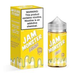 Jam Monster Banana Vape Juice