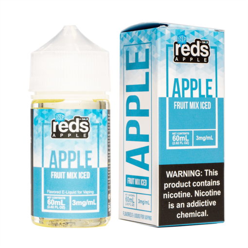 7 Daze Reds Fruit Mix ICED eJuice