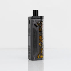 Lost Vape Themela Kit Gunmetal Ukiran Leather