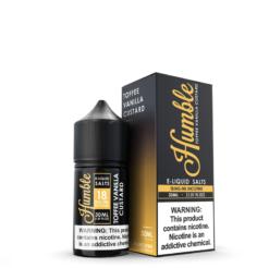 Humble Salts Toffee Vanilla Custard eliquid
