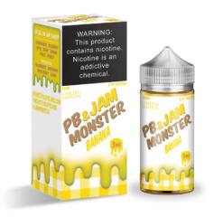 Jam Monster PB & Jam Banana eJuice