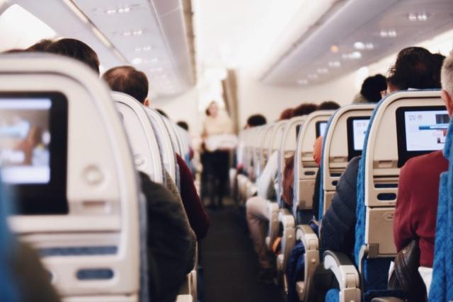 Vape on plane