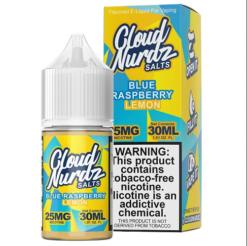 Cloud Nurdz TFN Salts Blue Raspberry Lemon