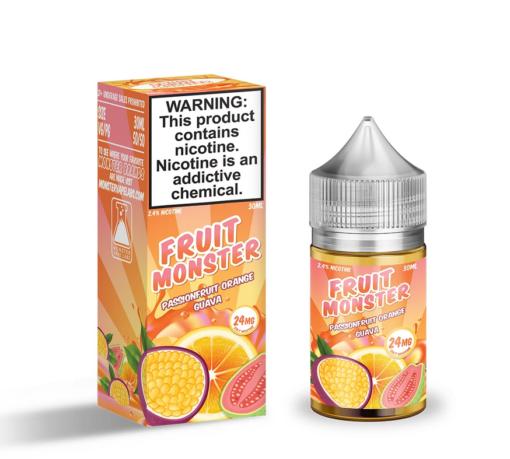 Fruit Monster Salt Passionfruit Orange Guava eJuice