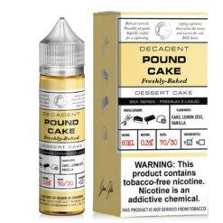 Glas Basix Pound Cake E Liquid