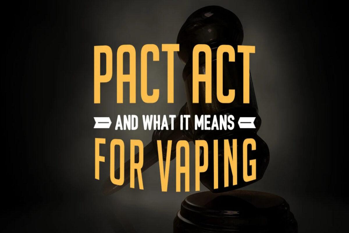 Vape Royalty PACT Act Info