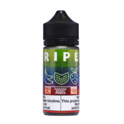 Ripe Gold Series Collection Banana Berry Punch EJuice by Vape 100