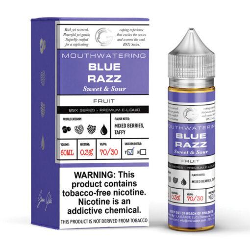 Glas Basix Blue Razz Vape Juice
