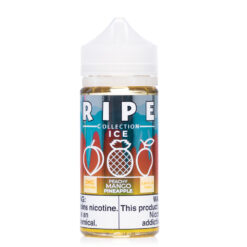 Ripe ICE Collection Peachy Mango Pineapple eJuice by Vape 100