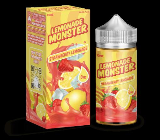 Lemonade Monster Strawberry Lemonade by Jam Monster