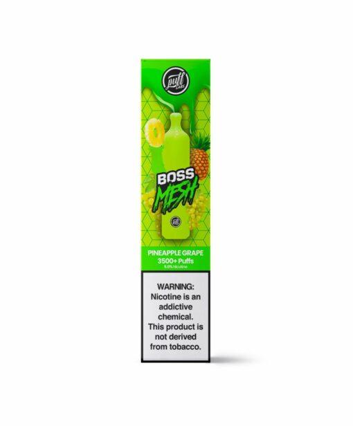 Puff Boss Mesh Pineapple Grape Disposable
