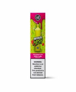 Puff Boss Mesh Strawberry Kiwi Disposable