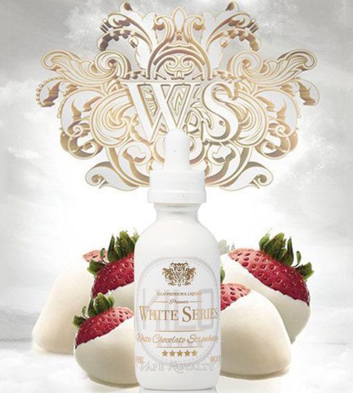 Kilo White Series - White Chocolate Strawberry 100mL