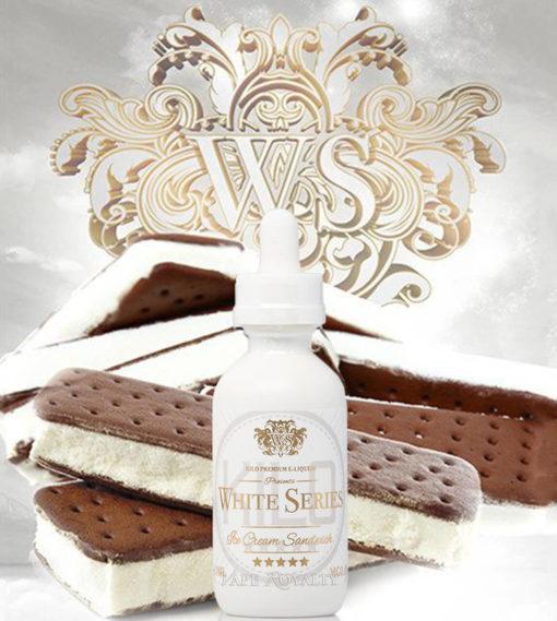 Kilo White Series - Ice Cream Sandwich 100mL